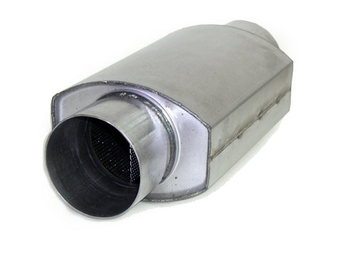 "3.5"" x 3.5"" x 10"" Square Oval Racing Muffler"