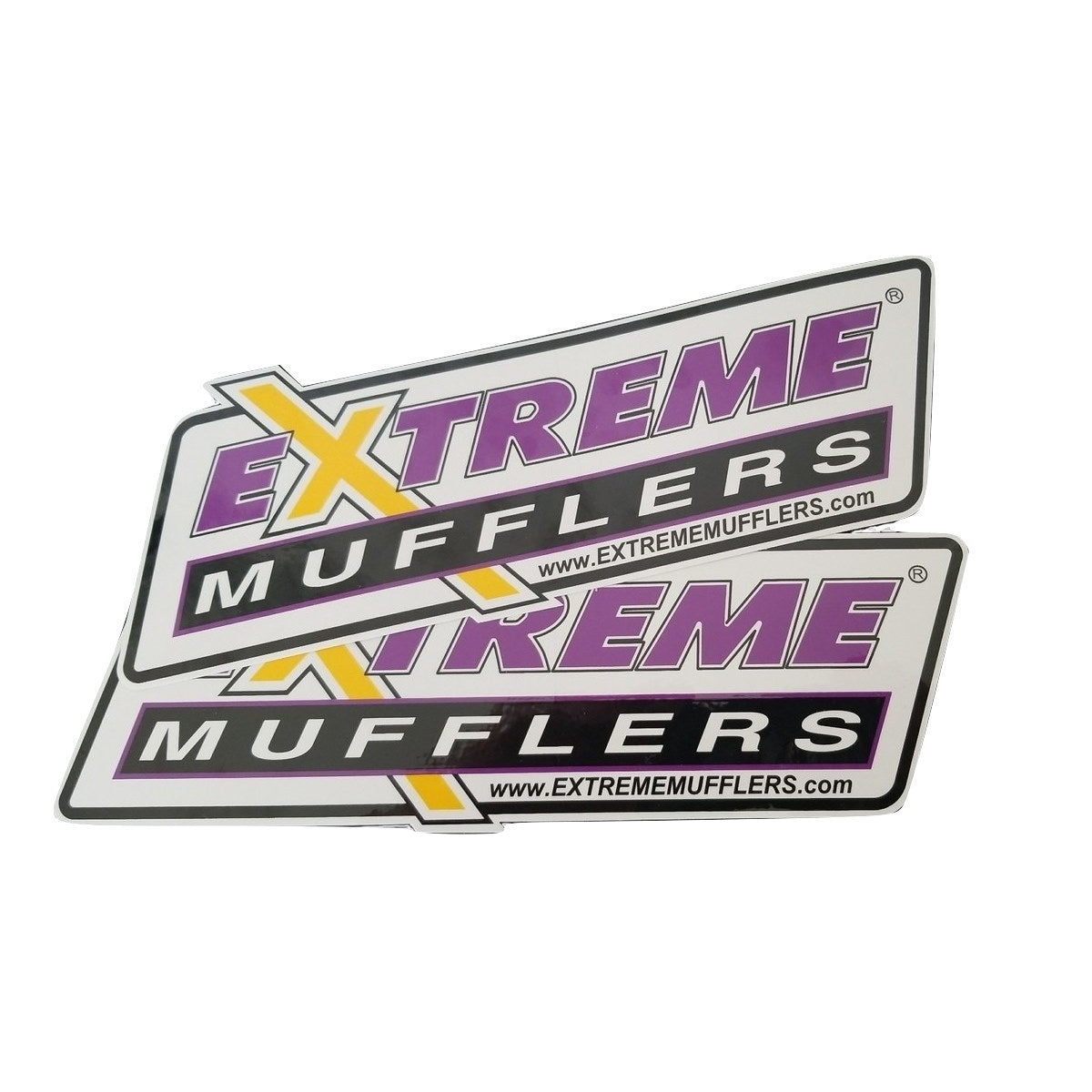 Contingency Decals - Extreme Mufflers