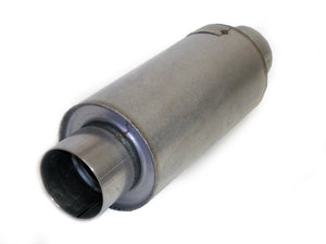 "Race Muffler Round 3"" x 3"" x 8"" DIRT Series Legal 30830 - Extreme Mufflers"