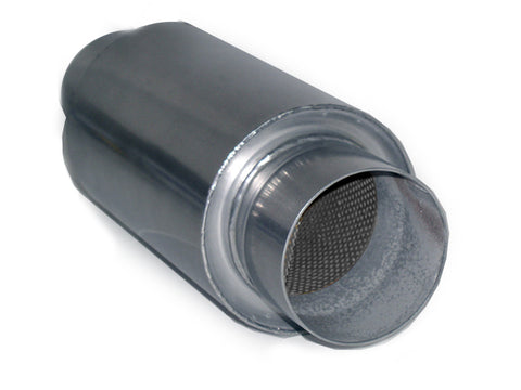 "Race Muffler Round 3.5"" x 3.5"" x 12"" DIRT Legal 31235 - Extreme Mufflers"