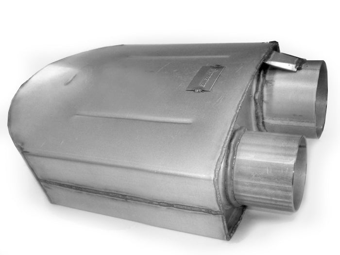 "3.5"" x 3.5"" 180 Sprint Car Muffler - Designed For USAC 410 Sprint Cars - Extreme Mufflers"