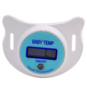 LCD Digital Baby Nipple Thermometer Medical Silicone Pacifier Children's Thermometer Health Safety Care Monitors For Children