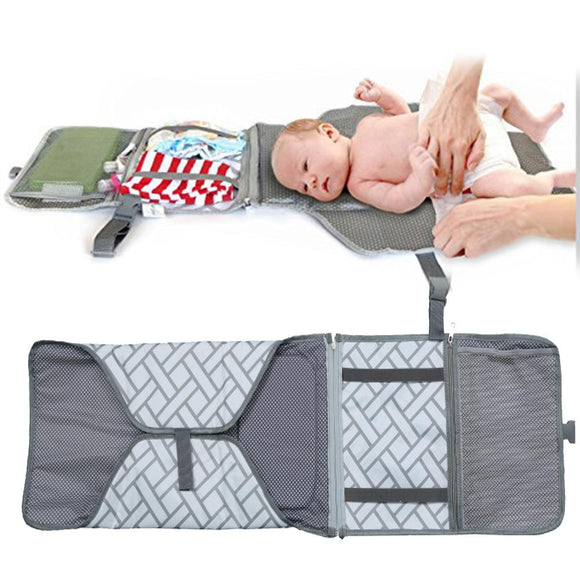 Fashion Portable Diaper Changing Pad Baby Infant Nappy Nursery Mat Travel Accessories