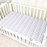 1pc 100% Cotton Baby Crib Fitted Sheets Print Breathable Newborn Toddler Bed Mattress Cover Kid 's Bedspreads Baby Bedding
