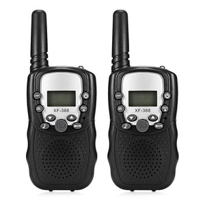 2pcs Baby Monitor XF - 388  Children Walkie Talkies 2-Way Radio 3KM Range 8 Channels With Adjustable Volume Levels
