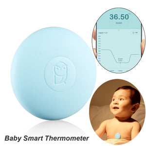 Digital Baby Smart Thermometer Thermometer Accrate Measurement Constant Monitor High-Temprature Alarm