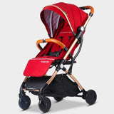 Baby Stroller Plane Lightweight Portable Travelling Pram Children Pushchair 5 FREE GIFTS,3USD COUPONS