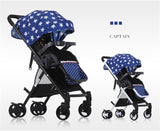2017 Brand Car Babies Strollers Brands Folding Buggy Kids Lightweight Pram Child Folding Travel Carriage Infant China Pushchair