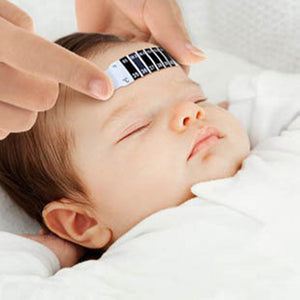 10 Pcs/lot Forehead Head Strip Thermometer Fever Body Baby Child Kid Adult Check Test Temperature Monitoring Safe Non-Toxic