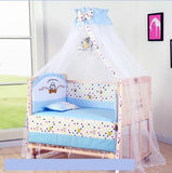 Baby Crib Bumper Soft Breathable Cotton Baby Cradle Bed Protector For Kids To The Cot Bedding Set For Children