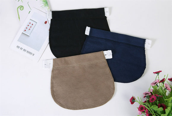 1 Pcs Maternity Pregnancy Waistband Belt Adjustable Elastic Waist Extender Clothing Pants For Pregnant Sewing Accessories