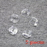 5/10/12Pcs Baby Safety Corner Protector Kids Proof Eliastic Table Corner Bumper Gaurd for Children Silicone Soft Transparent