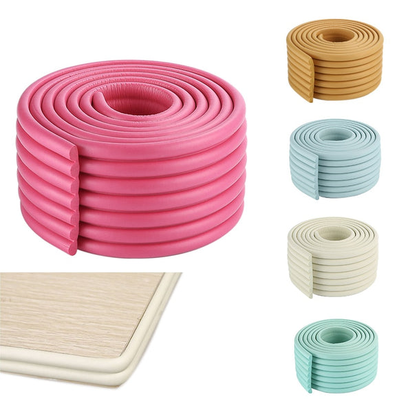 2m Baby Safety Bumper Strip Children Table Corner Protector Guard Desk Edge Cushion Strips YJS Dropship