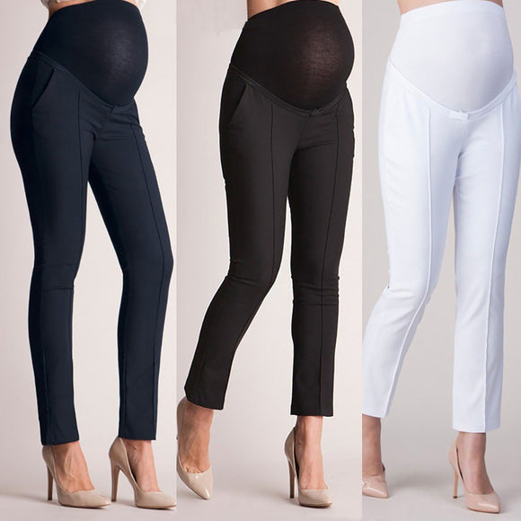 2018 New Summer Maternity Pants for Pregnant Women Cotton Maternity Legging Clothing Pregnant Women Gestantes Pregnancy Trousers