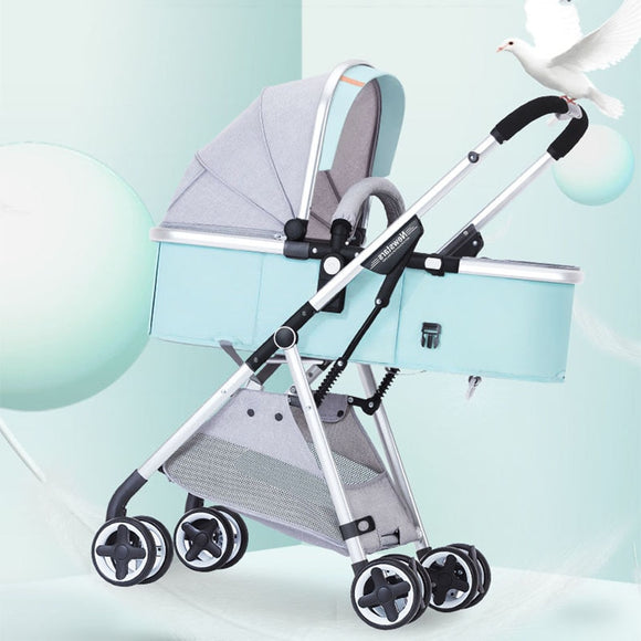 Lightweight Baby Stroller Portable Stroller Pram Children Pushchair Foldable Baby Cart Baby Pram Free Shipping