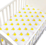 EGMAO NEW Baby Bed Fitted Sheet  130X70X22CM  Crib Sheet 100% Cotton Bed Sheet