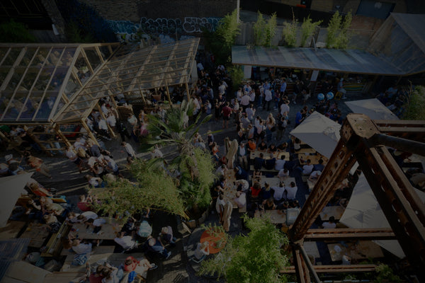 Our London Gin & Beer Garden gets a Social Distancing MAKEOVER!