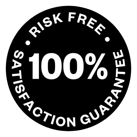 Risk Free 100% Guarantee