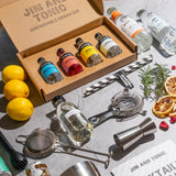 Home cocktail making set and mixology class