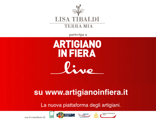Lisa Tibaldi Terra Mia Blog news Lisa Tibaldi Terra Mia as Artigiano in Fiera Live