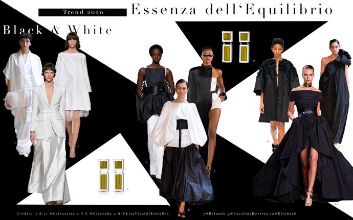 Trend 2020  Black & White - Essenza dell'Equilibrio