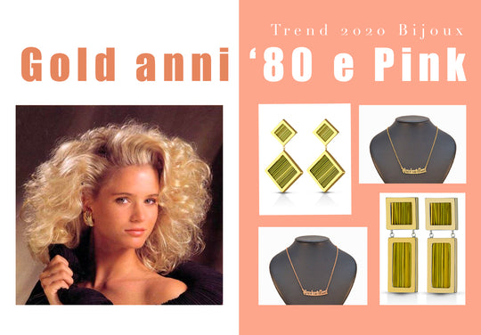 Lisa Tibaldi Terra Mia Blog News Gold anni '80 e Pink le tendenze Estate 2020 Collezione Bijoux made in Italy fatto a mano sustainable fashion luxury Brand Moda ecosostenibile accessori  alta bigiotteria in stramma
