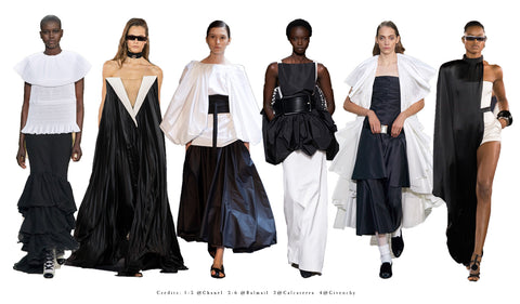 Lisa Tibaldi Terra Mia Blog News Trend 2020 Black & White Alta Moda Fashion