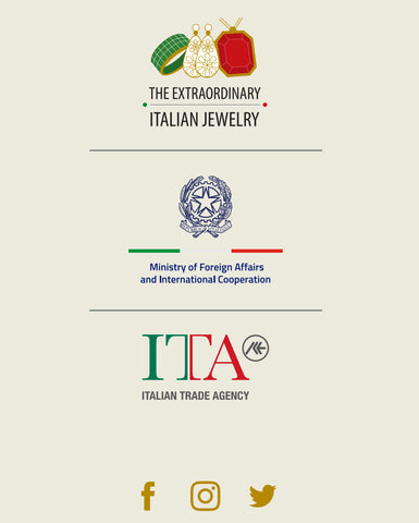 The Extraordinary Italian Jewelry logo and page