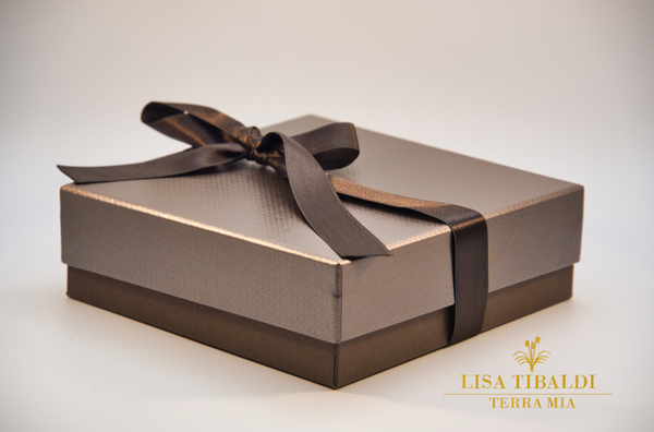 Lisa Tibaldi Terra Mia packaging scatola regalo gift box