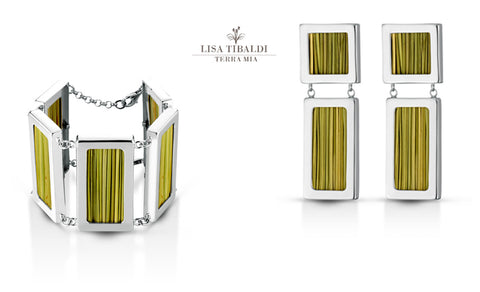 Lisa Tibaldi Terra Mia collection Bijoux made in Italy semi precious metal and strum handmade sustainable fashion luxury brand