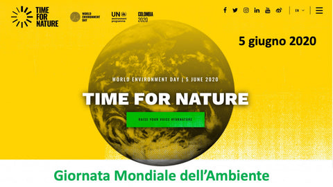 Time for Nature la giornata mondiale dell'ambiente