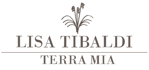 Lisa Tibaldi Terra Mia luxury brand of eco-sustainable fashion accessories made in Italy handmade, official logo