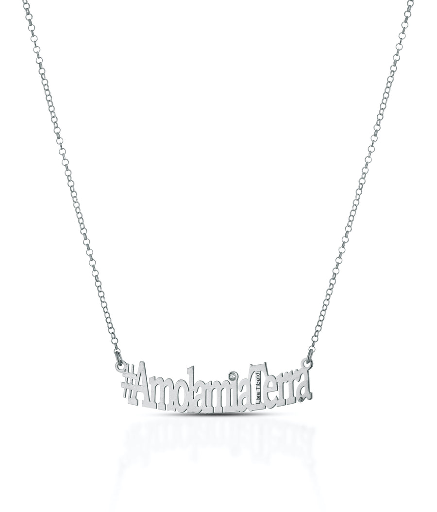#AmolamiaTerra silver 925 necklace Silver color