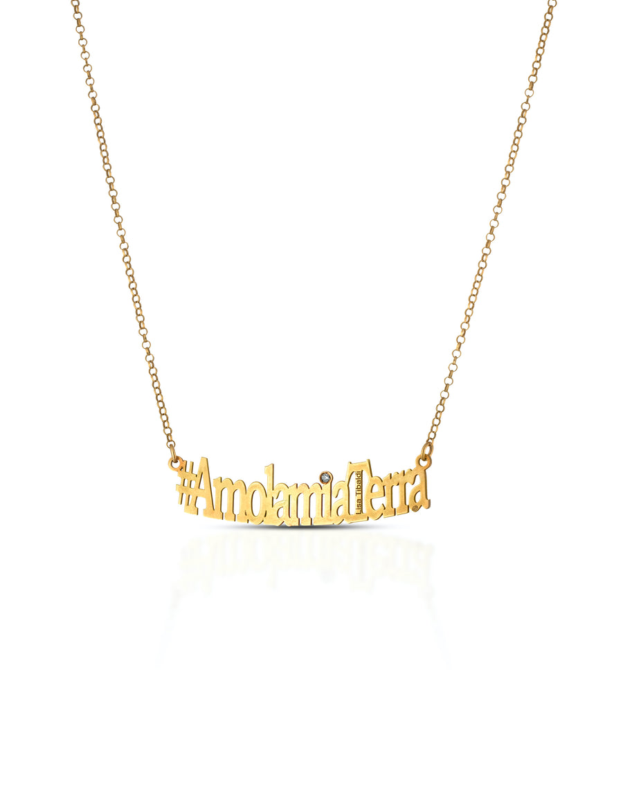 #AmolamiaTerra silver 925 necklace Gold color
