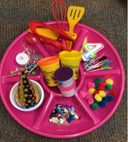 Early Childhood Maker Trays Birthday & Celebrations Tray