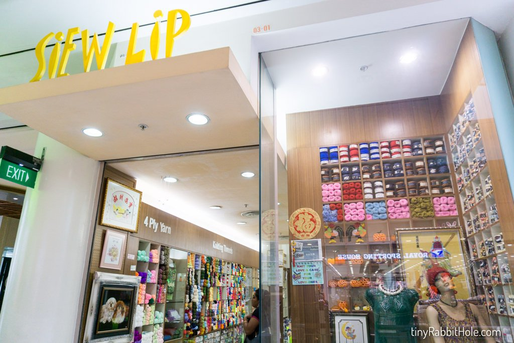 Siew Lip – Jurong Point Shopping Centre Craft Shop