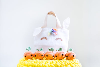 Make Your Magical Rainbow Unicorn Orange Tote with Crochet & Sewing for CNY (Last Workshop before CNY)