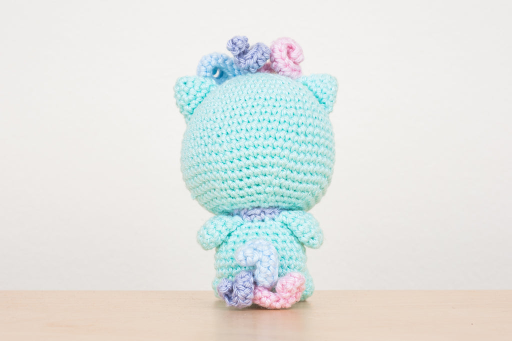Meowicorn Amigurumi Pattern & Kit