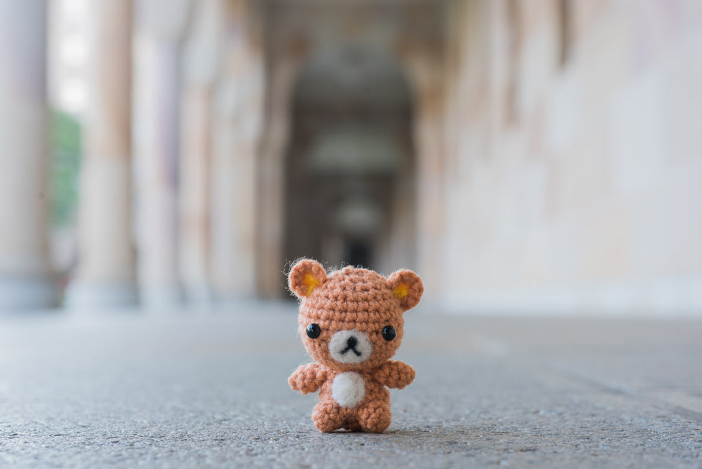 Moshi Bear Amigurumi Pattern & Kit (Twin Pack)