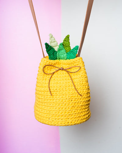 Pineapple Bucket Bag Pattern & Kit