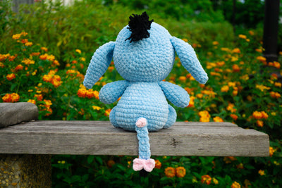 The Dull Donkey Amigurumi Pattern & Kit