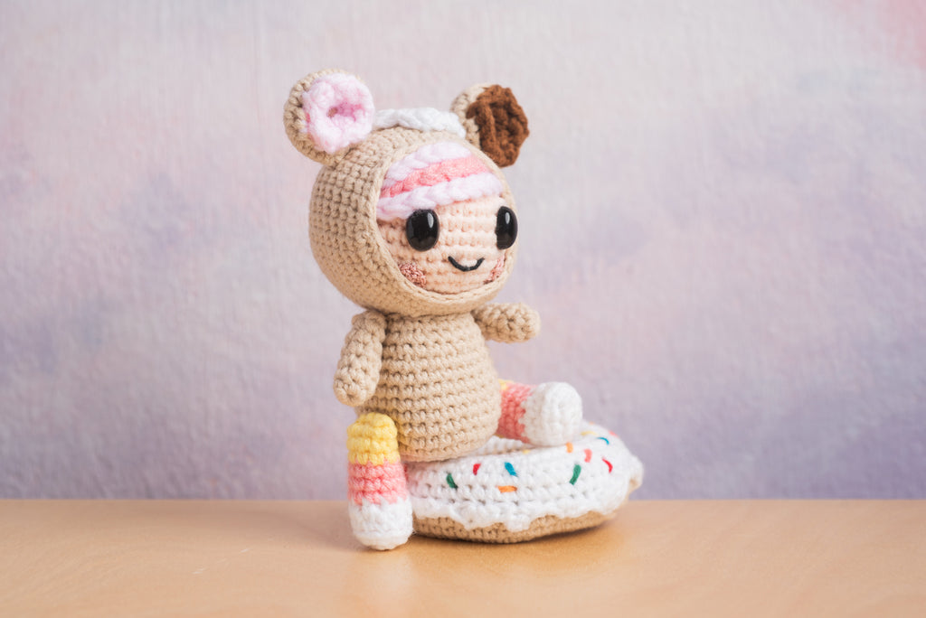 Donutella (inspired by tokidoki) Amigurumi Pattern & Kit