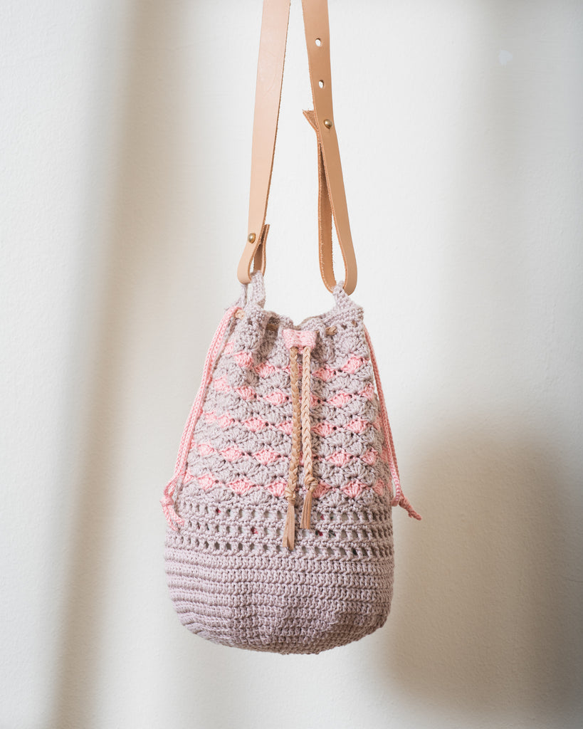Level 1.5: Dusty Flamingo Bucket Bag Workshop