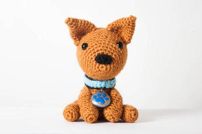 Potato the Dog Amigurumi Pattern & Kit