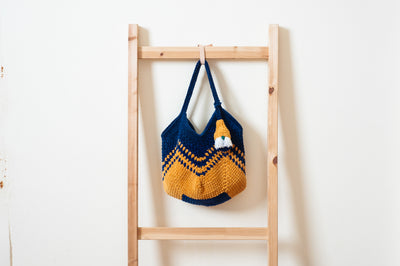 Granny Square Tote by Hip-P's Craft