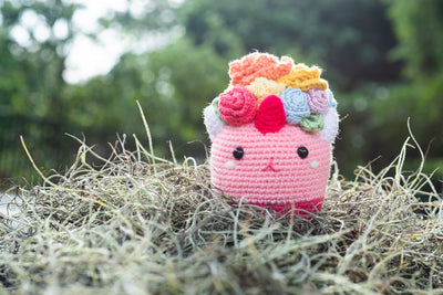 Hanayuni the Phat Rainbow Unicorn Amigurumi