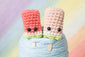 Watermelon Popsicle Amigurumi Pattern & Kit (Twin Pack)