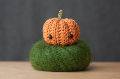 Punch Munch Pumpkin Amigurumi Pattern & Kit (Twin Pack)