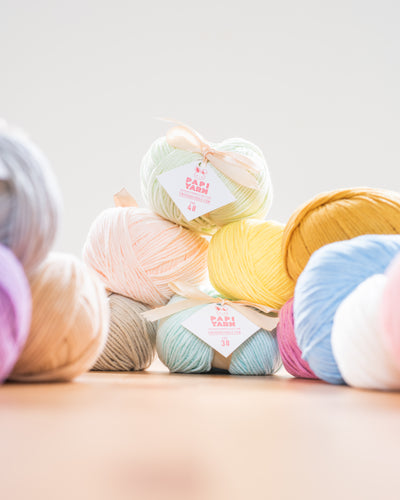 Tiny Rabbit Hole Puppy Yarn (Papi Yarn)