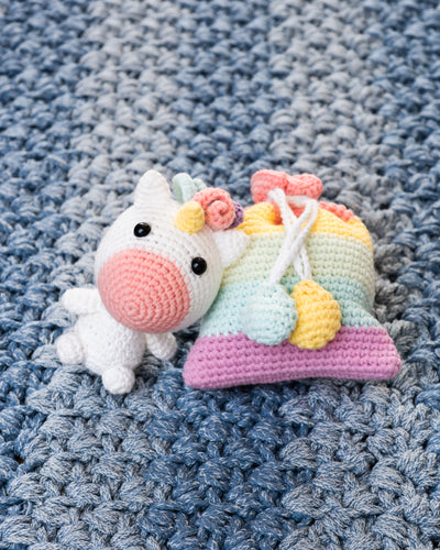 Unicorn Wonderland Amigurumi Pattern Book & Kit